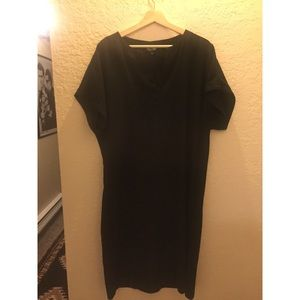 Topshop midi tunic dress